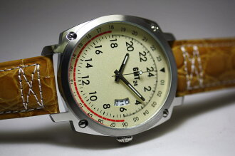 Produced only limited 100 books! Rare 24 hours display quartz wrist watch! GMT24 original watch