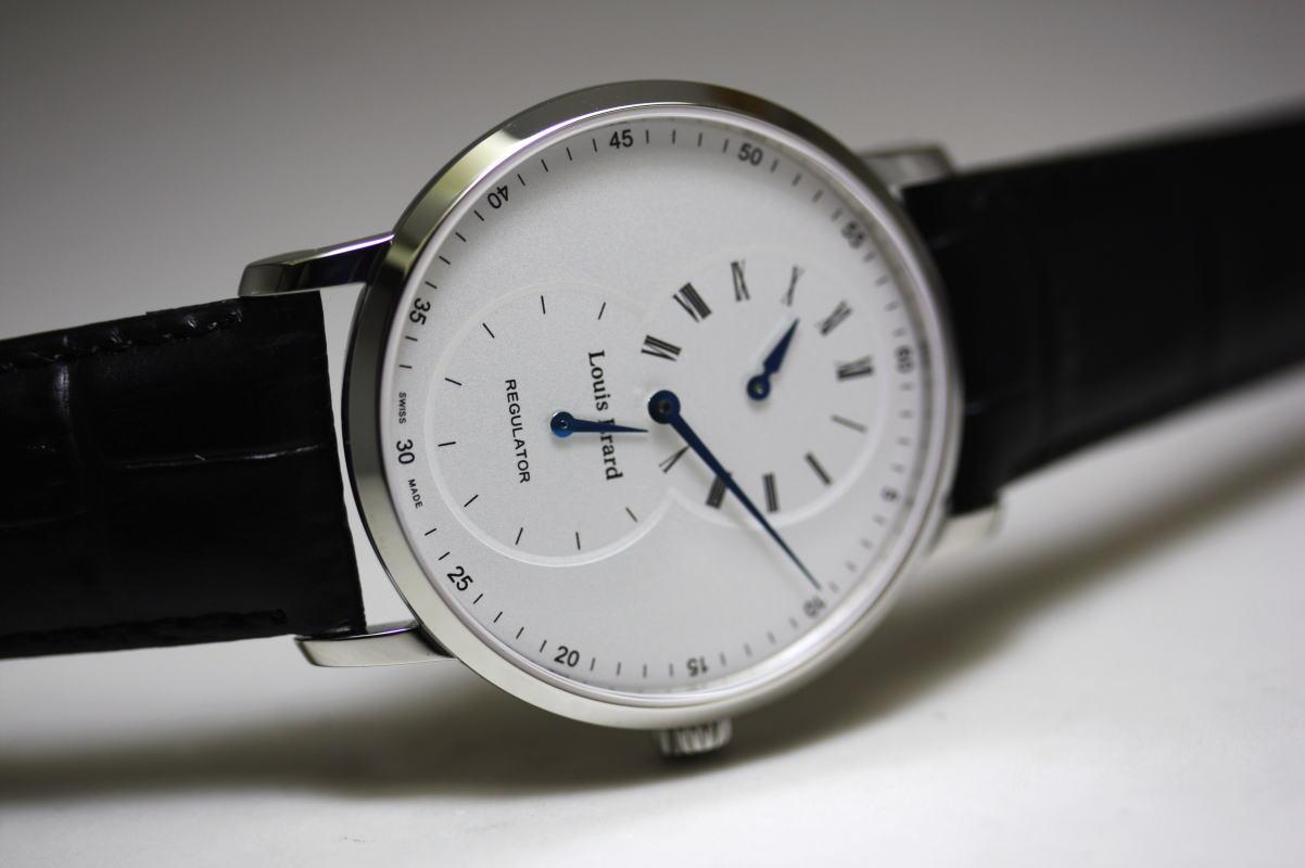 スイス製Louis Erard【ルイ・エラール】Excellence【エクセレンス】レギュレーター手巻き腕時計/正規品 針がそれぞれ独立したレギュレーター機構!