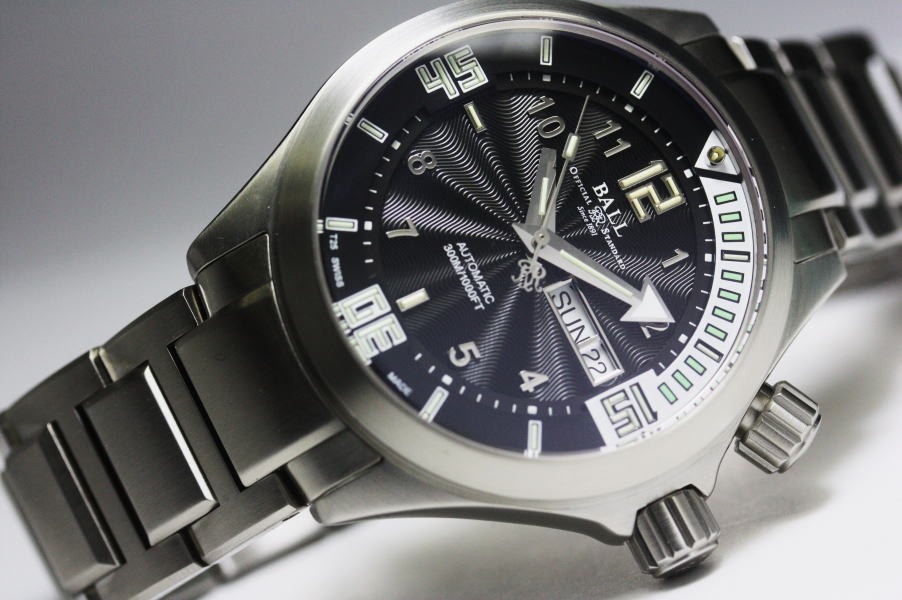 BALL WATCH【ボール・ウォッチ】エンジニアマスター・ダイバー2自動巻き腕時計DM2020A-SAJ-BKWH