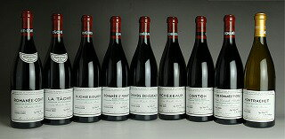 2009 Domaine de la Romanee Conti (DRC) - Mini Assortment (RC/LT/R/RS/GE/E/C/VR/M total 9btl)