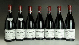 2006 Domaine de la Romanee Conti (DRC) - Mini Assortment (RC/LT/R/RS/GE/E/VR total 7btl)