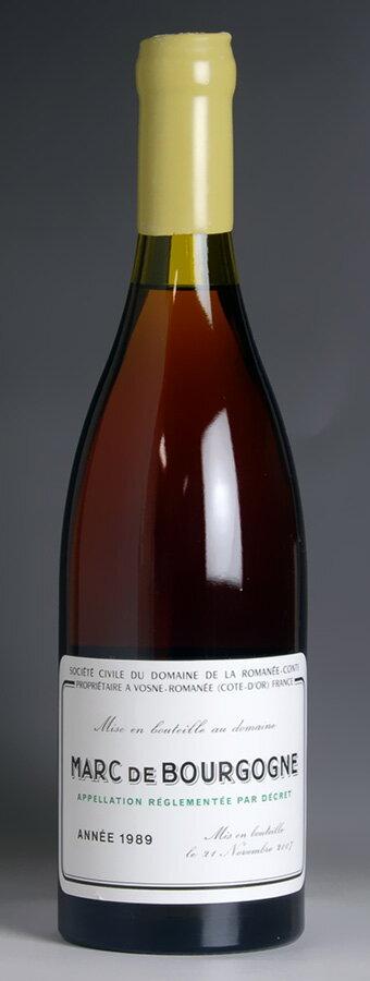 [1989] Mar de Bourgogne Romanée Conti DRC Marc de Bourgogne