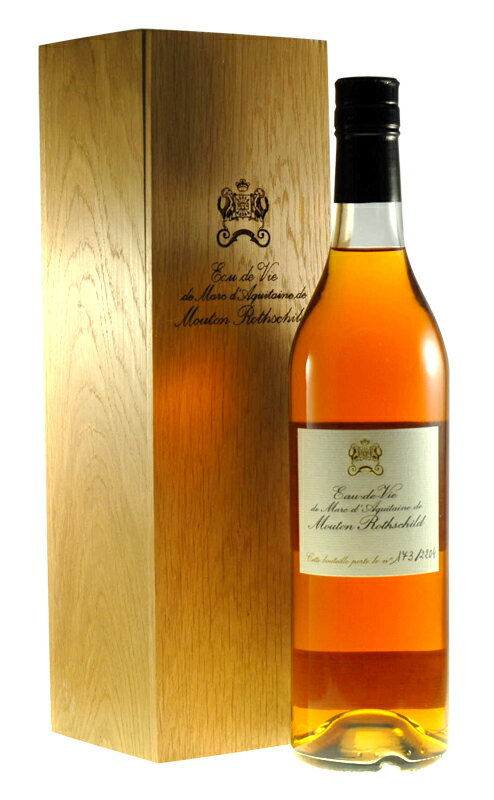 Ode v − de Mar of Aquitaine de Mouton Rothschild Chateau Mouton Rothschild Eau de Vie de Marc d ' Aquitaine de Mouton-Rothschild 700ml
