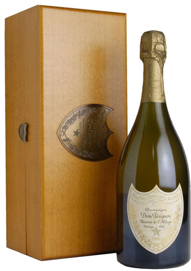 [1990] Don Perignon reserve de l'Abbaye Dom Perignon gold Dom Perignon Reserve de L ' Abbaye
