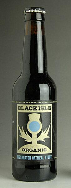 Black Isle ハイバーネーター oatmeal stout 1 case of Scottish organic beer