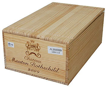 [2009] Château Mouton Rothschild 750 ml 1 case Ch.Mouton Rothschild