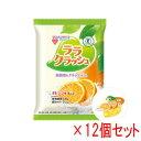 蒟蒻畑 (こんにゃくばたけ) ララクラッシュ オレンジ味 (24g×8個入)×12袋セット 【特定保健用食品】