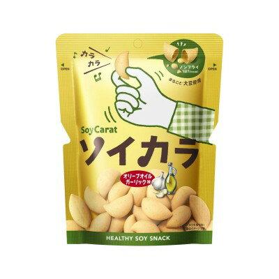 ソイカラ (SoyCarat) オリーブオイルガーリック味 1袋 (27g)