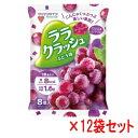 蒟蒻畑 (こんにゃくばたけ) ララクラッシュ ぶどう味 (24g×8個入)×12袋セット