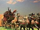 [完成品] 駅馬車 1/40サイズ ジオラマ 模型 ウエスタン 西部劇 カウボーイ アメリカ ジオラマ完成品