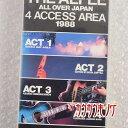 【中古】THE ALFEE [ALL OVER JAPAN 4ACCESS AREA 1988] VHS