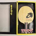 中古良品 アンドロ KA スピード ST グリップカラー:ブラック 約84g シェークハンド 卓球 ラケット