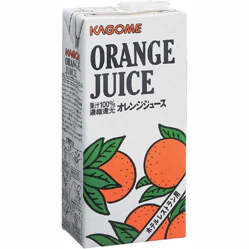 カゴメオレンジジュースホテルレストラン用1L6本1two