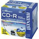 日立マクセル CD−R 700MB プリンタブル 20枚5mmP