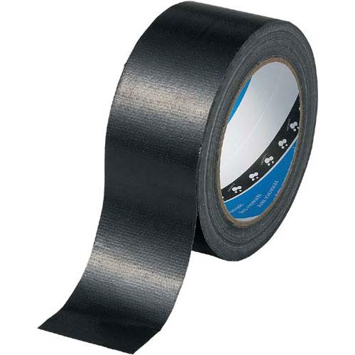 寺岡製作所 カラー布テープ No.1535 黒 1巻関連ワード【ガムテープ 梱包テープ 梱包用】