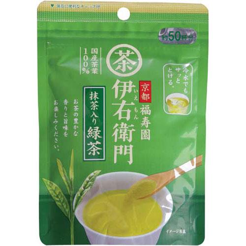 宇治の露製茶 伊右衛門 インスタント抹茶入り緑茶 40g入×3