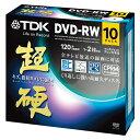 TDK DVD-RW 録画用120分 CPRM対応 1-2倍速 DRW120HCDPWA10A 10枚 1パック【取寄商品】関連ワード【ティーディーケー、ティーディーケイ、DVDRW、記録用メディア】★5000円以上お買上げポイント10倍【期間:9/6(土)10:00〜9/8(月)9:59】【ポイント付与11/20頃】