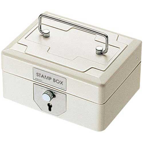 コクヨ スチール印箱(鍵付) 小