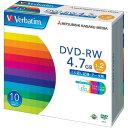 三菱化学メディア DVD−RW 2倍速 インクジェット対応 10枚P