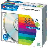 三菱化学メディア CD−RW 4倍速 ノンプリンタブル 10枚P
