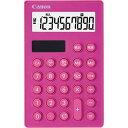 キヤノン 電卓 手帳型 カラーLS−SmartMINIピンク