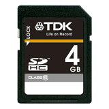 TDK SDHCカード 4GB Class10 (5年保証) T-SDHC4GB10 1個【取寄商品】関連ワード【ティーディーケー、ティーディーケイ】