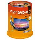 TDK 録画用DVD-R デジタル放送録画対応(CPRM) 1-16倍速対応 パールカラーディスク 100枚スピンドル DR120DALC100PUE 1パック【取寄商品】関連ワード【ティーディーケー、ティーディーケイ、DVDR、記録用メディア】