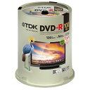 TDK 録画用DVD-R デジタル放送録画対応(CPRM) 1-16倍速 インクジェットプリンタ対応(ホワイト・ワイド) 100枚スピンドル DR120DPWC100PUE 1パック【取寄商品】関連ワード【ティーディーケー、ティーディーケイ、DVDR、記録用メディア】