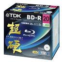 TDK BD-R ブルーレイ 録画用 インクジェットプリンタ対応 超硬 130分1-4倍速 BRV25HCPWB20A 20枚 1パック【取寄商品】関連ワード【ティーディーケー、ティーディーケイ、Blu-ray、記録用メディア、ブルーレイディスク、Disk】