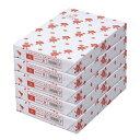 カウネット スタンダードタイプ A4 1冊(500枚)×5関連ワード【コピー用紙 印刷用紙 プリンター用紙】