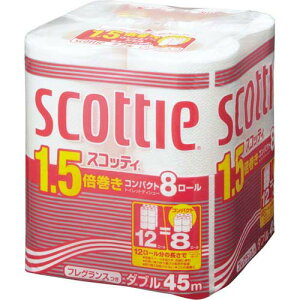 日本製紙 クレシア スコッティコンパクト トイレットペーパー