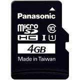 ★商品合计金额额1800以上★【P0610】松下 microSDHC卡 Class104GB[パナソニック microSDHCカード Class10 4GB]