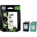 HP 純正インク HP140黒/141カラー パック