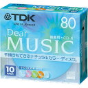 TDK 音楽用CD−R 80分 カラーミックス 10枚P