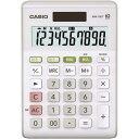 カシオ 電卓 W税率 ミニジャストMW−100T−WE−N