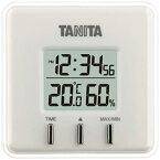 タニタ デジタル温湿度計 TT−550 ホワイト