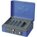 カール事務器 手提金庫 CB−8200 ブルー