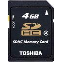 東芝テック SDHCカード CLASS4 4GB