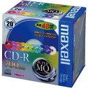 日立マクセル CD−R 700MB 10色 20枚P