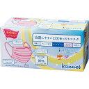 「カウコレ」プレミアム 会話しやすい口元ゆったりマスク ピンク60枚×5箱