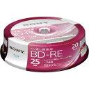 ソニー BD−RE録画用 25GB 2倍速 20枚SP