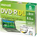 日立マクセル DVD−Rデータ用(2層)8倍速 IJ対応 5枚P
