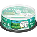 日立マクセル DVD-R録画用 16倍速 IJ対応 20枚SP
