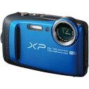 フジフイルム 防じん防水カメラ XP120 ブルー