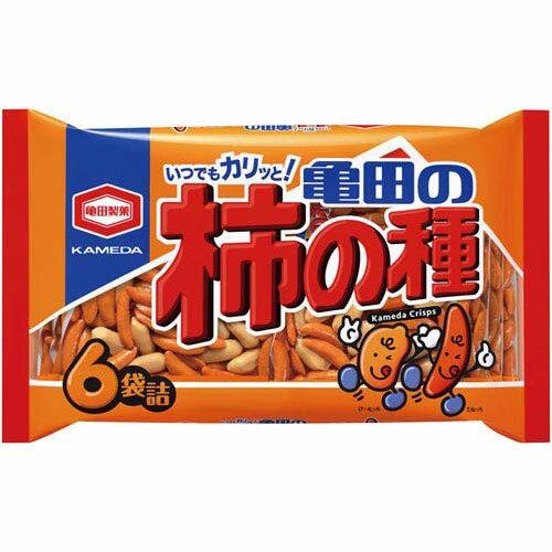 亀田製菓 亀田の柿の種 6袋入×3
