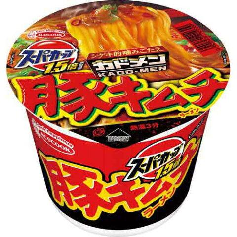 エースコック スーパーカップ 豚キムチ 12個入