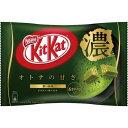 ネスレ キットカットミニ オトナの甘さ 濃い抹茶12枚×3