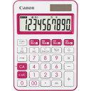 キヤノン カラー電卓 LS−105WUC−PK ピンク