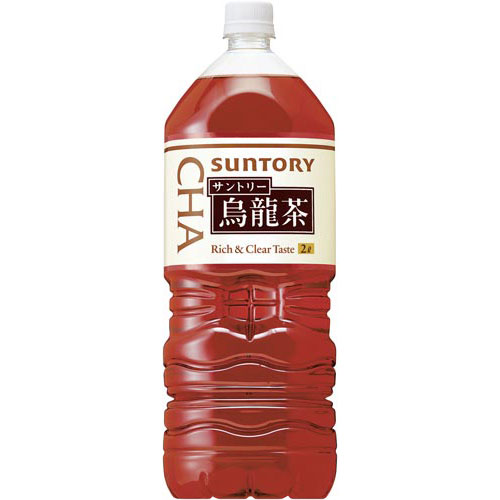 サントリーフーズサントリー烏龍茶2L12本