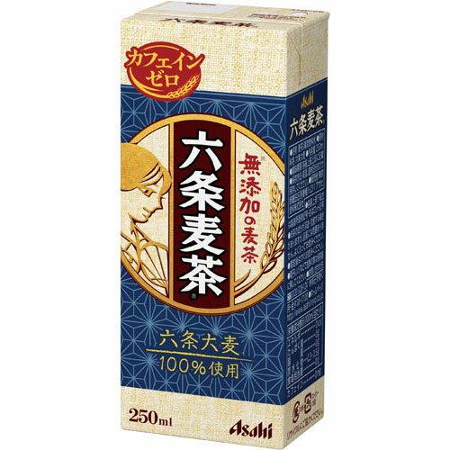 エルビー アサヒ 六条麦茶 250ml 24本